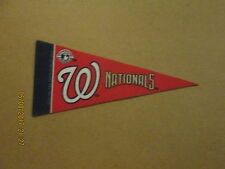 MLB Washington Nationals Vintage Circa 2008 Logo Mini Baseball Pennant
