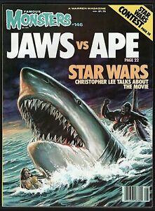 Famous Monsters of Filmland Magazine #146 Jaws vs. Ape Star Wars Christopher Lee