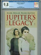 2013 IMAGE JUPITER'S LEGACY #1 1ST APPEARANCE IN TITLE CGC 9.8 WHITE NETFLIX