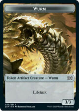 MTG Wurm Token - Double Masters (NM) English *FOIL*