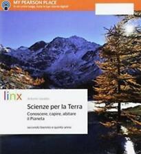 scienze per la terra, secondo biennio e quinto anno, LINX pearson 9788863648799