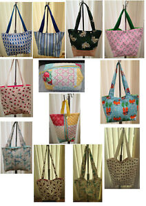 Handmade Tote Bags And Wash Bags Various Styles And Sizes