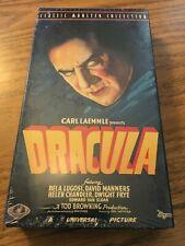 Dracula (VHS, 1931) Bela Lugosi, Tod Browning, Universal Horror