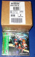 Lot of 4 (Sealed Case) Chrono Cross Greatest Hits Sony PSX New-Sealed-Free Ship!
