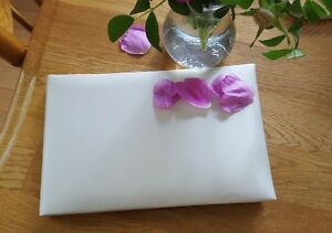 NEW IN BOX ♡ WEDDING IVORY SATIN  GUEST BOOK