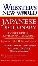 Webster's New World Japanese Dictionary (1997, Paperback, Revised, Expanded)