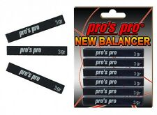 Pro's Pro New Balancer Lead Tape Power Strips - Black - Tennis Racket Golf Clubs