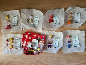 K'NEX Minifigure Nintendo Super Mario Bros Series 2 Complete Set of 8