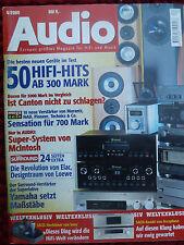AUDIO 4/00 SONY SS TW 100ED,CANTON M 50 DC,HECO ARGON 70,VISATON COUPLET,C 42 AC