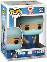 "FRONTLINE HEROES MALE NURSE 3.75"" POP VINYL FIGURE FUNKO NEW"