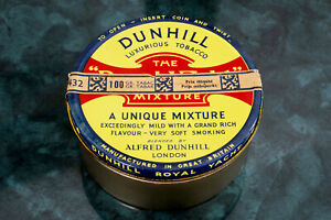 DUNHILL PIPE TOBACCO TIN ROYAL YACHT early 1980's vacuum sealed 100 GRAMS