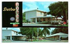Darlow Motel, Tampa, FL Postcard *6S(2)25