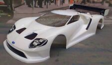 Custom Painted Body FORD GT for 1/10 RC Drift Cars Touring HPI 200mm
