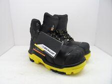 DUNLOP Men's 6'' Composite Toe Composite Plate DLNB16103 Work Boots Black 8M