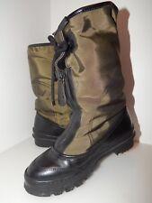 Burberry Heritage Shearling Leather Boot, Loam Nylo & Black, EU 37/ US 6 1/2 6.5