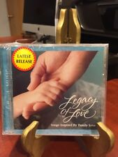 Legacy of Love: Songs Inspired by Family Love (CD,1999) Hallmark/Mfg. Sealed