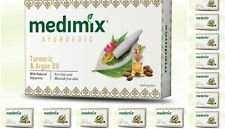 40 BARS! Medimix 125gm Ayurvedic Turmeric & Argan Oil Soap USA SELLER FAST SHIP