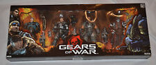 Brand New SEALED! Gears of War NECA Series 2 BOX SET Marcus Dom Baird Theron G