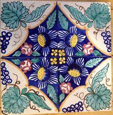 Vietri Piastrelle 20x20 Decorate a Mano Riproduzione Maioliche Antiche Dell'800