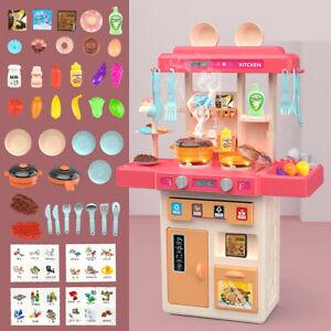 73cm Spielküche Kinderküche Kinder Küche Spielzeug mit Zubehör Zubehörteile