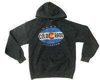 Gildan Heavy Blend Ouray Colorado Pullover Hoodie Sweatshirt Mens Size M
