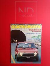 QUATTRORUOTE 293 APRILE 1980 - FIAT RITMO DIESEL CL  ALFASUD 1300  PANDA 30 E 45