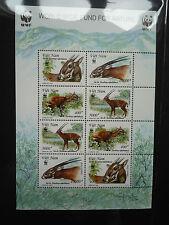 WWF Stamps Vietnam 2000 Sao La Pseudoryx Nghetinhensis SS MNH