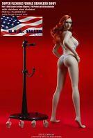TBLeague 1/6 Steel Skeleton TALL FEMININE Female Seamless Figure W/ HEAD S42 USA