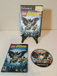 LEGO Batman: The Videogame (Sony PlayStation 2 PS2) Includes Manual Free Ship