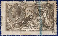 1915 SG407Wj 2s6d Grey Brown De La Rue (Wmk Rev) cvFU £1000 aesi