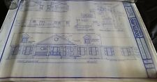 Southland Homes Barclay Architectural Blueprint House Plans 3 Bedroom 2 Bathroom