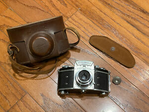 Vintage Ihagee Exaktra Varex Zeiss Tessar 5cm f/3.5 T Lens For Parts As-Is