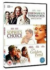On Golden Pond + Fried Green Tomatoes + Sophie's Choice Region 2 DVD