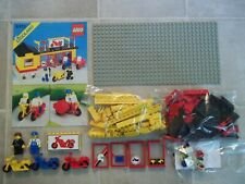 Lego 6373 Classic Town MOTORCYCLE SHOP Garage Complete w/Instructions A
