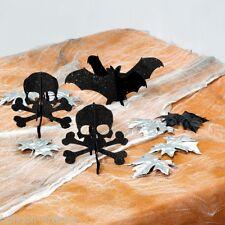 3 Pièce Halloween Gothique Poison élégante paillettes 3D décoration centrepieces