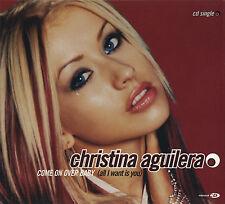 CHRISTINA AGUILERA Come On Over Baby (2000 U.S. Enhanced CD Single Digipak)