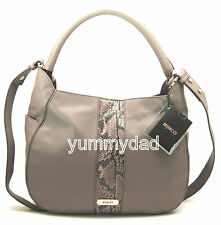 MIMCO CRESCENT HOBO LEATHER BAG IN MINK BNWT RRP$450