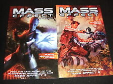 MASS EFFECT 1 & 2  REMEPTION  EVOLUTION  DH SC GN TPB BY WALTERS GAME WRITER NEW