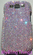 CRYSTAL AB Bling Rhinestone Case for Samsung Galaxy S4 made w Swarovski Elements