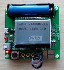 12864 LCD Transistor Tester Diode Triode Inductance Capacitance ESR Meter MOS