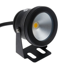 Lemonbest® 10w 12v Black LED Underwater Flood Light for Landscape Fountain Pond