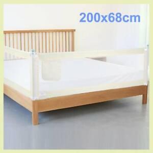Bettschutzgitter Rausfallschutz Bettgitter Bettrailing Kinder Bett 200*68cm BEST