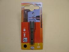 Nut driver tek screw tech screw 7mm Magnetic, 65mm long, fits jubilee hose clips