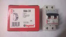 9 disjoncteurs Legrand 2 pôles D10