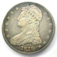 "1839-O Capped Bust Half Dollar 50C - Certified ICG VF35 - Rare ""O"" Mint Coin!"