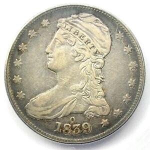 """1839-O Capped Bust Half Dollar 50C - Certified ICG VF35 - Rare """"O"""" Mint Coin!"""