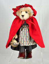 Knickerbocker Red Riding Hood Mohair Stuffed Bear Limited Ed. No. 111 / 1000
