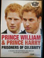 Prince William & Prince Harry -  Prisoners of Celebrity DVD BBC - New & Sealed