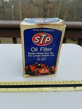 Vintage STP -SO 7  Andy Granatelli oil filter NOS in box 1970s Mopar 1974 COOL
