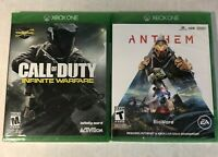 XBOX One New Sealed 2 Game Lot Call of Duty: Infinite Warfare & Anthem FREE SHIP